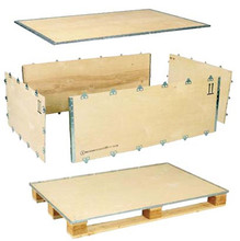 Not Easy Friable Collapsible Plywood Box