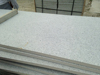 honed and tumbled tile China natural beautiful hand carved g383 granite
