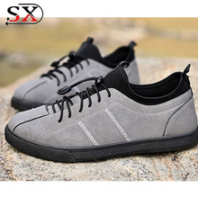 2018 Most Comfortable Famous Brand European Casual Leather Men Shoes To Wear With Jeans