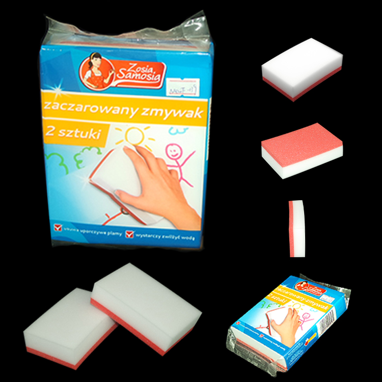 melamine sponge magic eraser compressed foam