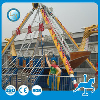 Outdoor fairground equipment !amusement pirate ship for sale