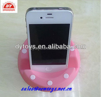 Custom make plastic pink phone holder
