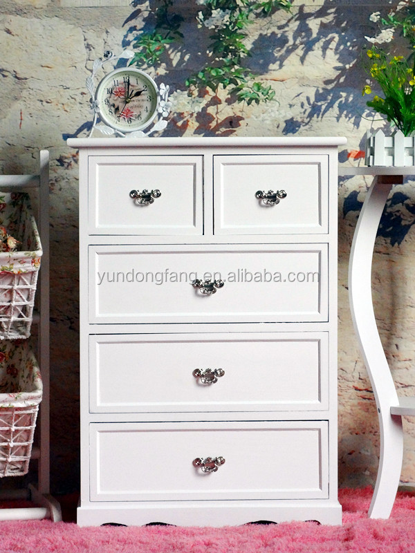 Modern Living room furniture white wood sideboard