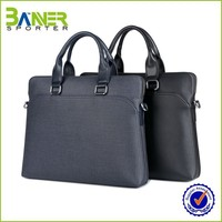 Customized Color Factory Sales leather briefcase laptop bags
