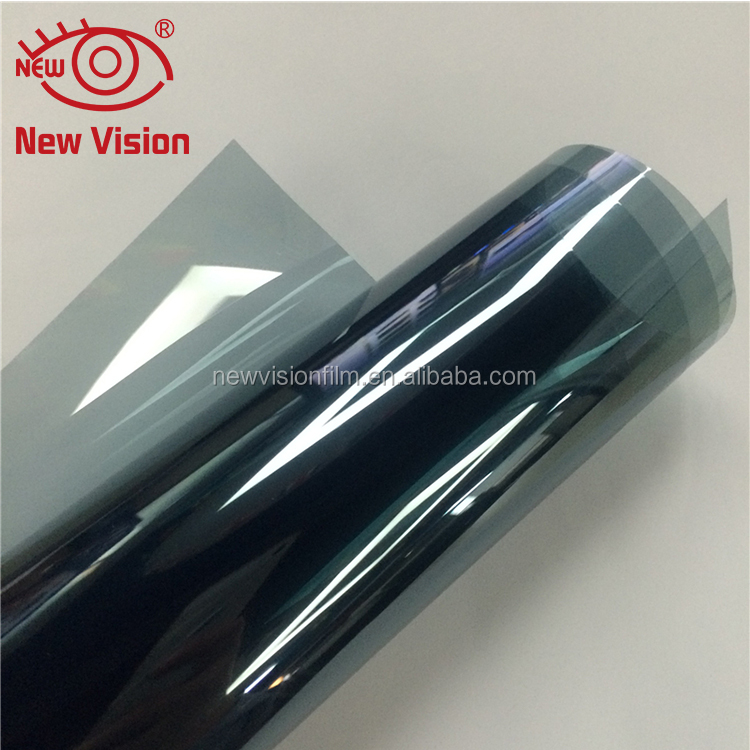 Item IR70100 IR rejection 100% light blue nano ceramic car window solar tint <strong>film</strong> with VLT 70%