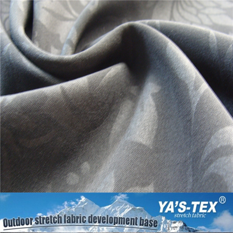 2-layer water resistance breathable Stretch Polyester Fabric Bonded with fleece