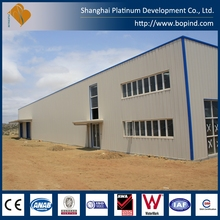 Prefabricated Steel Frame Two Floor Warehouse Plant