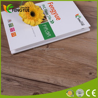 Commercial Design Wooden PVC Vinyl Floor Tile For Indoor Used Made In China