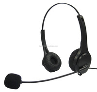professional USB headset with USB QD adaptor for call center and office