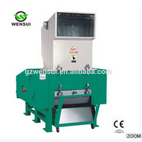 plastic crusher used/VGD 10HP plastic PE granulator,PE film granulator, plastic pelletizing machine/box crusher machine
