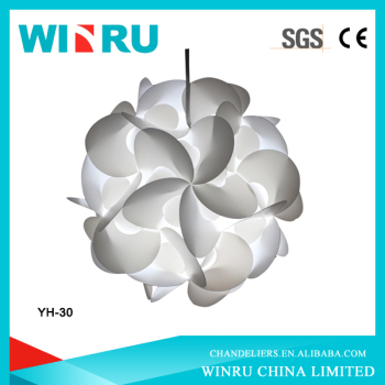 wholesale circle flower design IQ puzzle light/jigsaw lits/led puzzle light