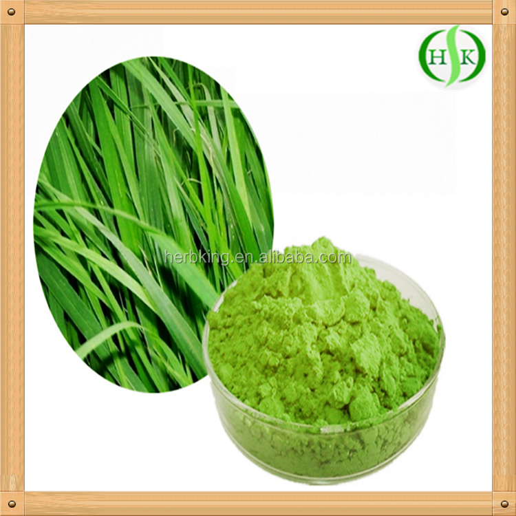 100% organic vegetable powder from barley grass