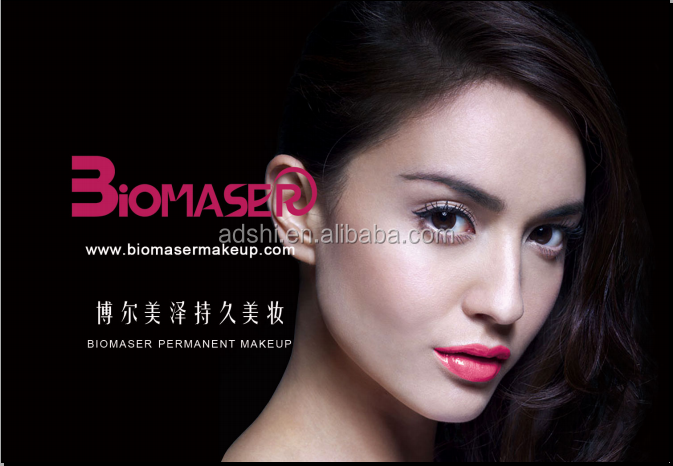 Biomaser eyeliner lip tattoo digital semi eyebrow permanent makeup machine