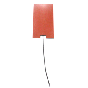 120v electric aluminium silicone rubber heater with thermistor