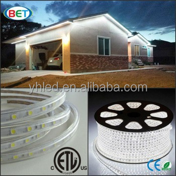 Long life span smd5050 110v rgb led strip waterproof IP67 ball lantern rattan lamp cool white led strip