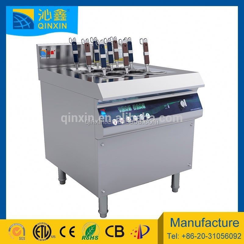 9 baskets commercial induction electric noodle cooker/restaurant equipment and facility