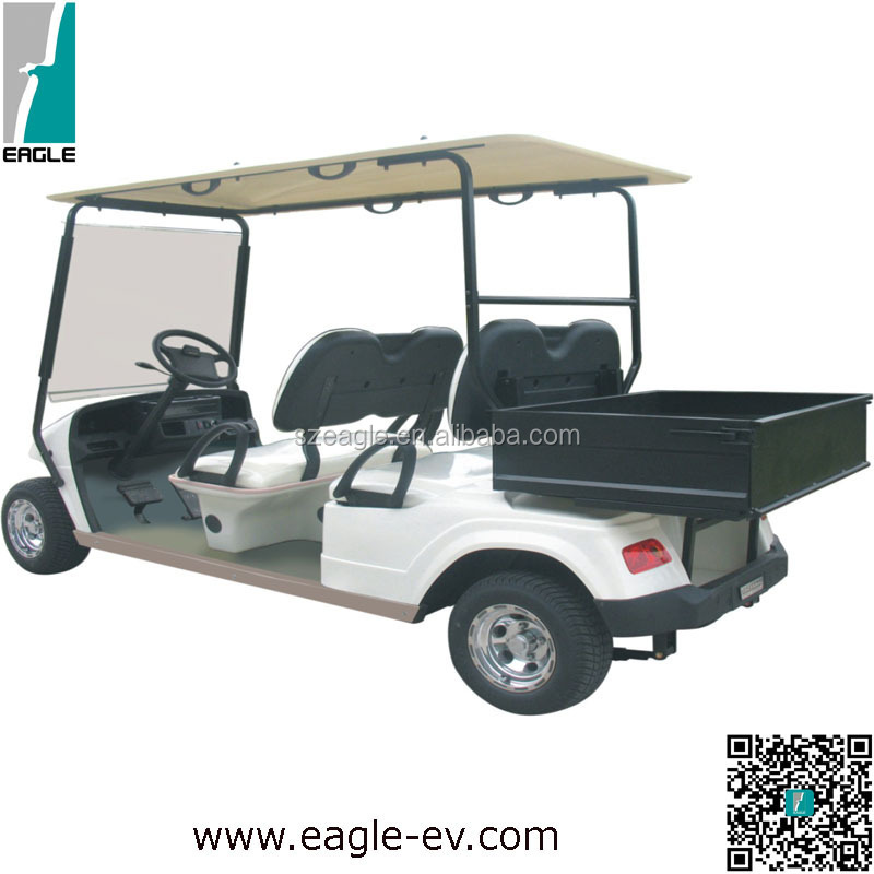 Cheaper electric utility car, 4 seat golf buggy,airport electric golf cart,cheapest golf car for sale,utility golf carts