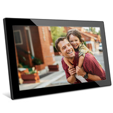 21.5 Inch Full HD 1080P Widescreen Digital Photo Frames with Motion Sensor for Tabletop or Wall Mount Use,16GB USB Memory