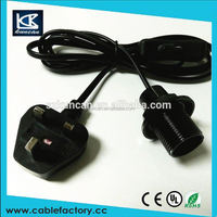 With on/off switch uk lamp power cord