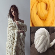 wholesale custom merino wool yarn fabric fiber