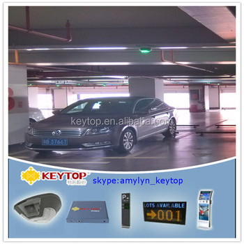 video vehicle tracking system and parking guidence system for parking lots