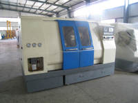 two spindle cnc turning center 100/200/350/450/550 Double spindle, hydraulic chuck and tailstock