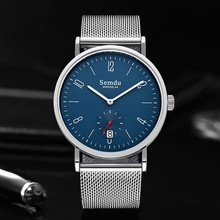 Wholesale OEM Mesh Stainless Steel Strap Japan Movement Quartz Watch