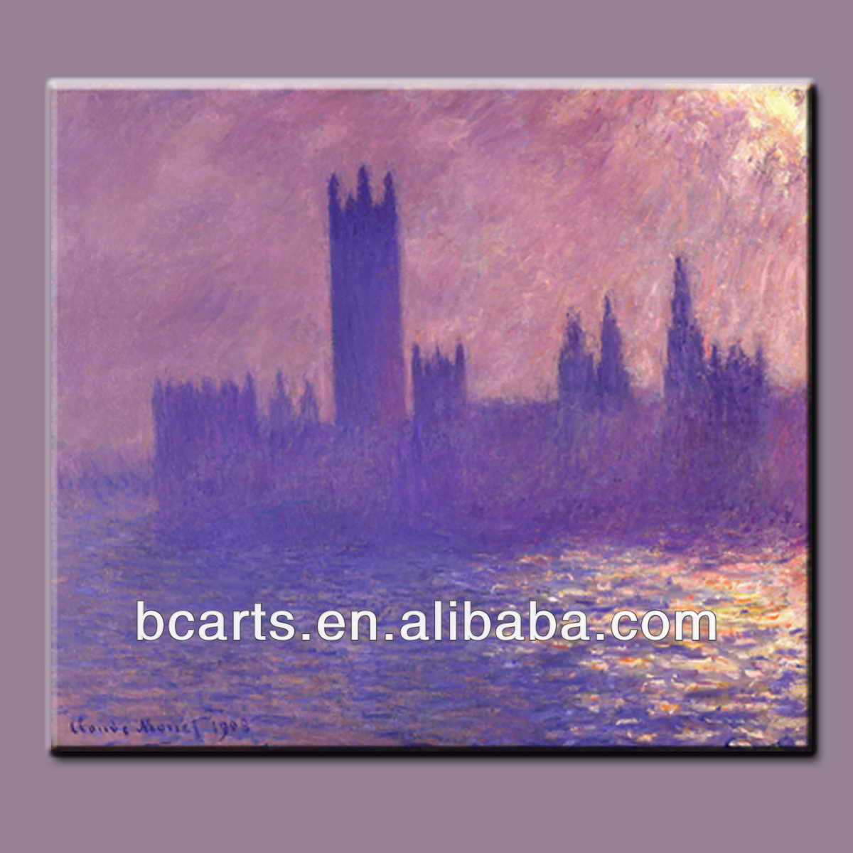 European castle building painting, high quality hand-painted oil painting abstract art by famous artists