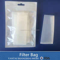 Polyester / Nylon Screen Filter Bags for Rosin Extraction
