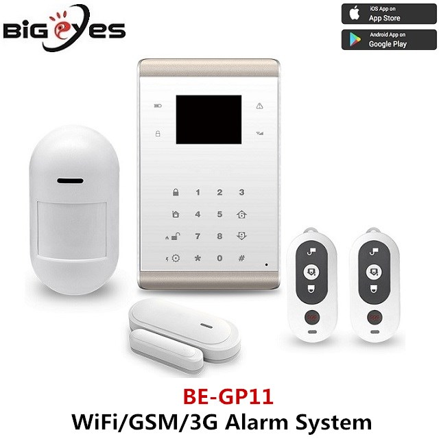 Alarm download apps and sensors motion with alarm home security wifi ip camera for live monitoring