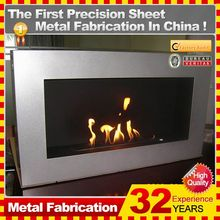 2014 hot sale professional customized corner fireplace dimensions with 32 years experience