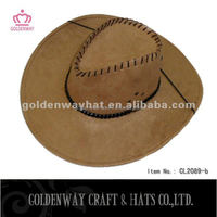 fashion felt suede cowboy hats cheap high quality design