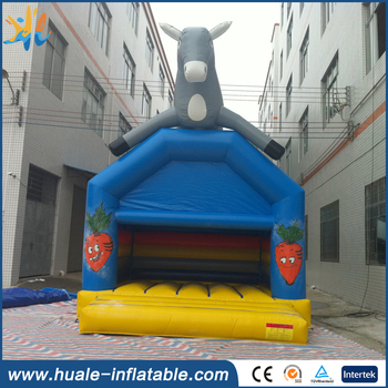 Hot sale kids commercial inflatable bouncy castle, china supplier inflatable bouncy castle with water slide for sale