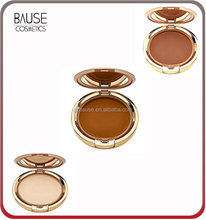 private label waterproof face makeup pressed powder foundation