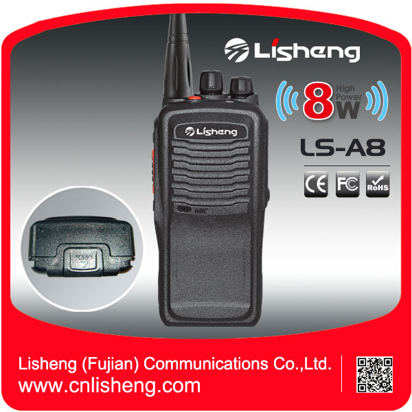 8Watts long distance big size LS-A8 outdoor transceiver