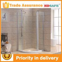 Price shower cabin, shower room pivot and prefab glass aluminium shower room P332A