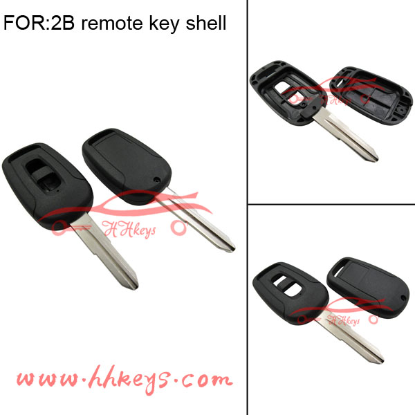 KeylessOption Replacement Keyless Entry 2 button Car Remote Control Key