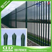 Galvanized Steel Fence Panels / Gate Ideas For Fences / Fence Spear Tops