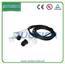 j1772 type 1 to iec 62196 type 2 ev connector for EV car charging stations