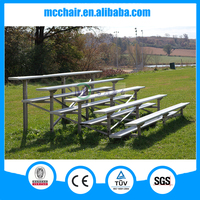 MC-6F environmental aluminum stand waterproof outdoor grandstand sports seat