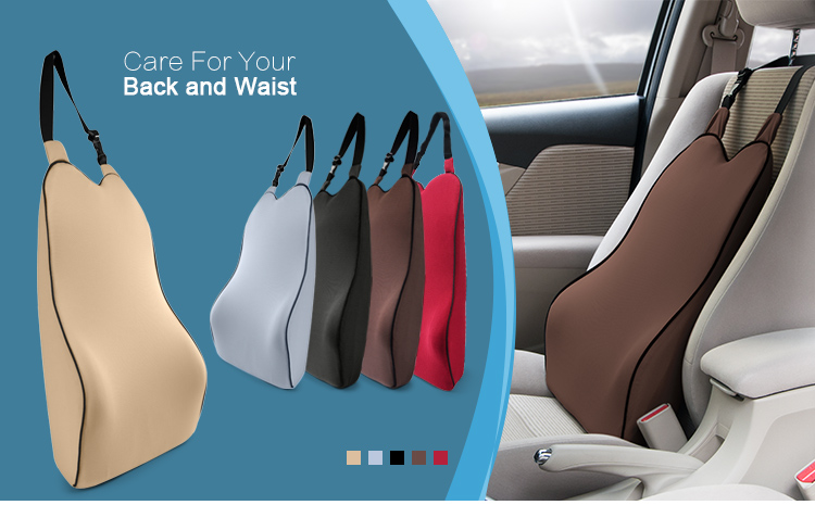 Car Interior Accessories Comfortable Lumbar Support Cushion For Car