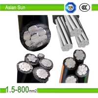 Overhead abc cable of rated up to and 10KV with ASTM, BS, NFC, IEC, DIN Standard