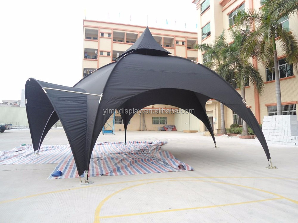 Trade show event arch dome tent for sale with portable steel frame
