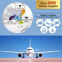 Newest international cheapest air freight from china