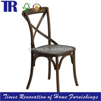 Madeleine Dining Chair,Wood Side Chair, Zinc Seat Dining Chair