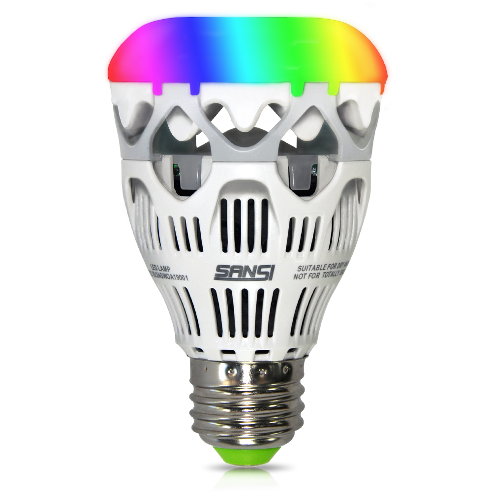 PSE 10w RGB smart phone controlled led wifi light bulb