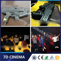 High Level Canton Fair Best Seller Big Gun Shooting 7D Cinema Electronic System On Alibaba.Com