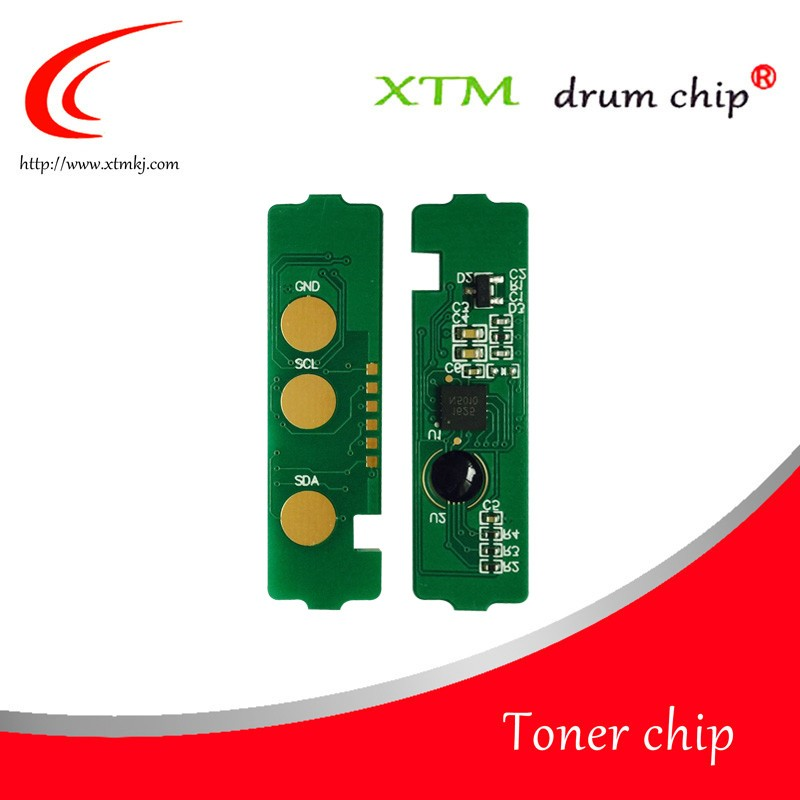 Compatible CLT-404S K/C/M/Y toner chips for Samsung C430W C430 C432 C480 cartridge chips reset
