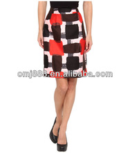 New York Short Ladies Pencil Office Skirts Designs