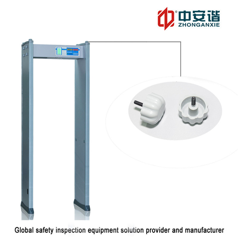 3D Infrared Electronic Factory phone detection Walk Through Metal Detector
